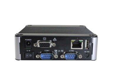 EBOX-3330-L2222C2 - 1GB RAM. SD, SATA, 4xUSB (3 external, 1xinternal, VGA, Line-out, 2xFull RS422, 2xfull RS232, 2xLAN (1x100Mbps, 1x1Gbps)
