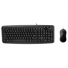 Gigabyte KM5300 Compact Keyboard Mouse Set [USB2.0 800DPI optical slim key-caps black]
