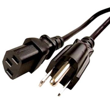 110V AC/10A US Netzkabel UL/CSA 2ft (60cm)