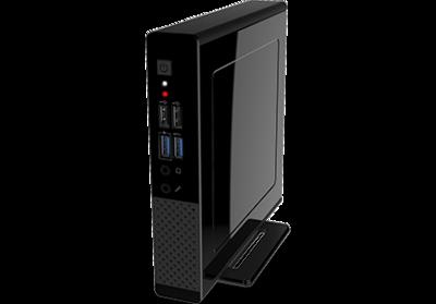 Liva One B150SBE-SF100, LGA1151-Skylake socket, 2x DDR3L/DDR34 SO-DIMM, Internal 2.5inch SATA bay, M.2 SSD slot, WLAN a/b/g/n/ac - Barebone