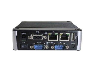EBOX-3362-L2C2 - Dual Core 2GB RAM. SD, SATA, 4xUSB (3 external, 1xinternal, VGA, Line-out, 2xFull RS232, 2xLAN