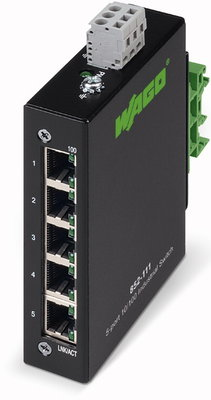 852-111 Wago Industrial-ECO-Switch; 5 Ports 100Base-TX
