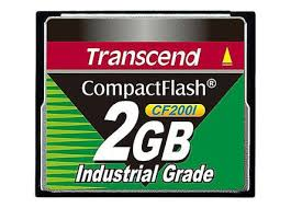 Transcend, 2GB Industrial CF card