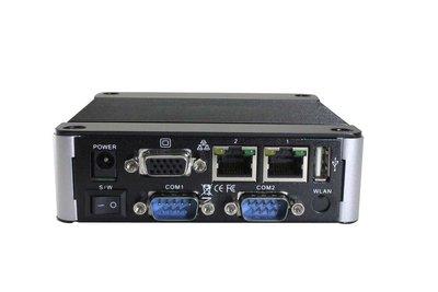 EBOX-3332-L2C4 - 2GB RAM. SD, SATA, 4xUSB (3 external, 1xinternal, VGA, Line-out, 4xFull RS232, 2xLAN