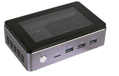 PROMO until 16-9-2016: LIVA Core (M-5Y10C SOC, 4GB RAM-DDR3-1600Mhz, 120GB M.2 SSD, 2xHDMI, 4xUSB3.0 (1x high power), 1x 1Gbit LAN, WIFI 802.12ac + Bluetooth 4.0, microSD slot, VESA mountadapter
