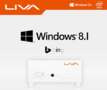 LIVA-KIT-2GB-Ram-64GB-SSD-WHITE-Wifi-Bluetooth-Windows-8.1-BING-preloaded