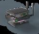 MintBox Mini 2 Pro (8GB RAM, 120~128GB M.2. SSD, 2x LAN, WIFI/BT, Linux MINT)_